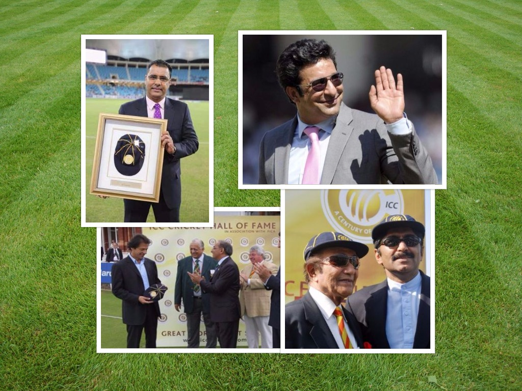 Pakistani cricketers in Hall of fame