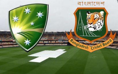 Australia Vs Bangladesh – Series Preview 2017