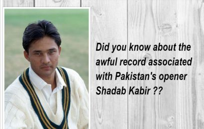 Did you know about the awful record associated with Shadab Kabir ??