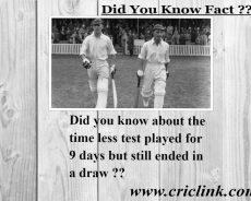Timeless test match between England & South Africa 1939