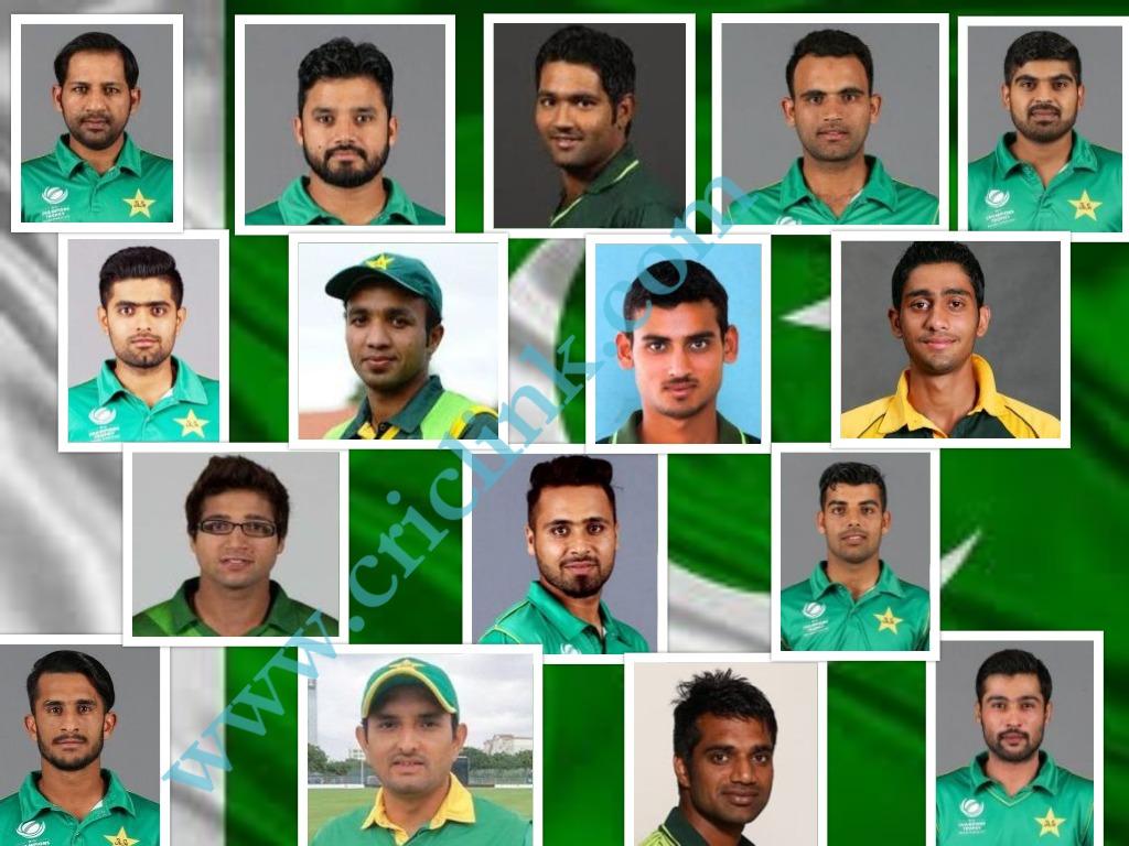 Pakistan Squad for Tour of Ireland & England