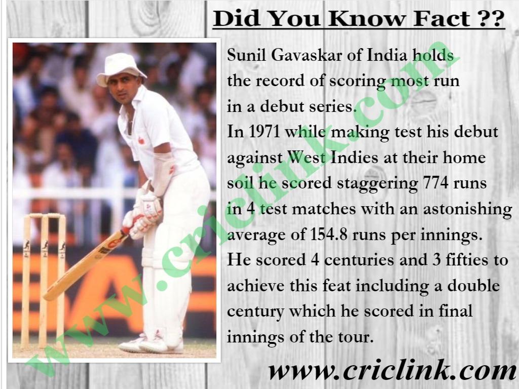 Sunil Gavaskar criclink.com