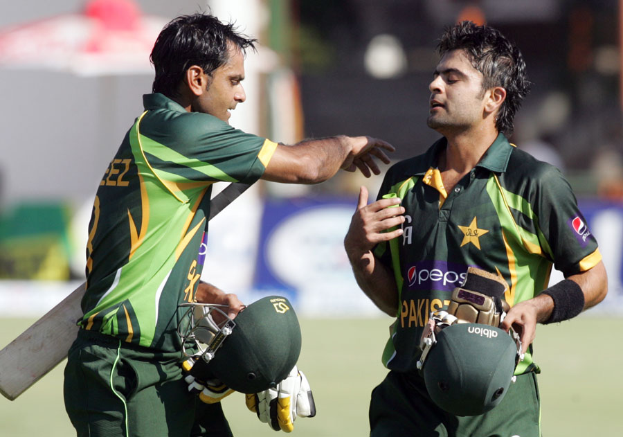 Mohammad Hafeez and Ahmed Shahzad