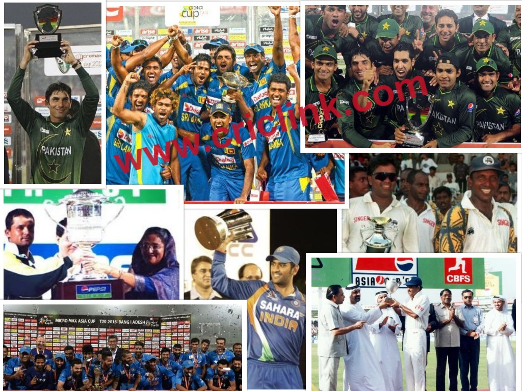 Asia Cup Team Records