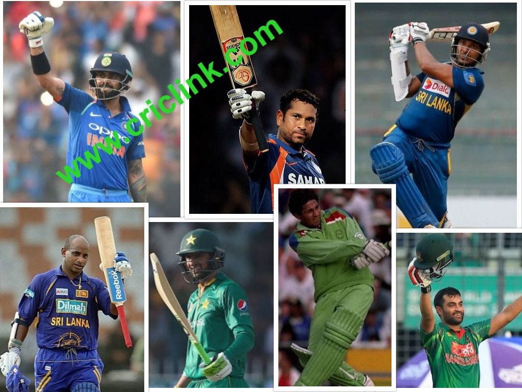 Asia cup batting records