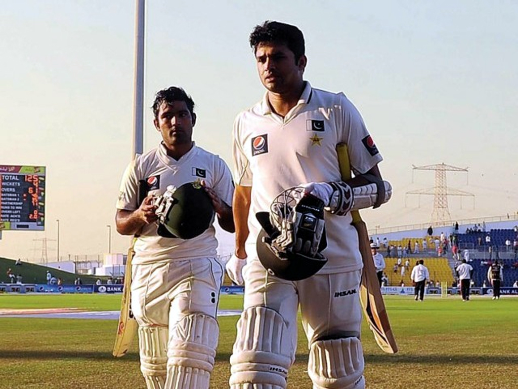 Azhar Ali and Asad Shafiq
