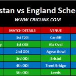 Pakistan Tour of England 2019