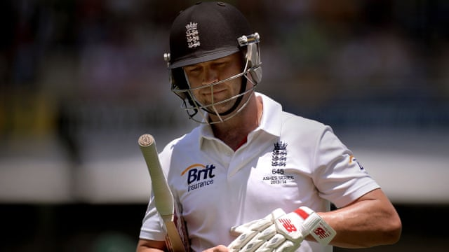 Jonathan Trott caught short of greatness by stress