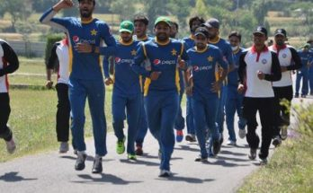Pakistan Player Fitness Test