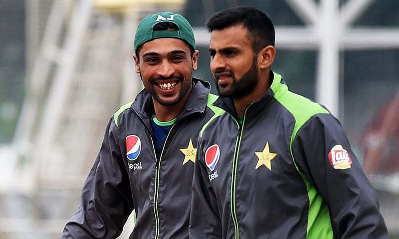 Malik, Hafeez Dropped, Amir demoted in PCB central contract list 2019-20