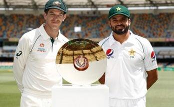 Pakistan vs Australia 2019