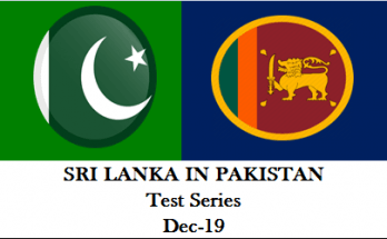 ri Lanka Tour of Pakistan Test Series 2019