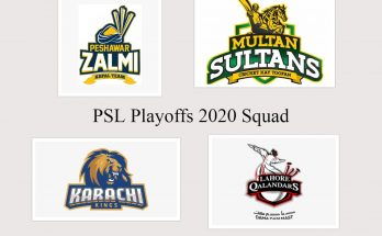 PSL 2020 updated squad list