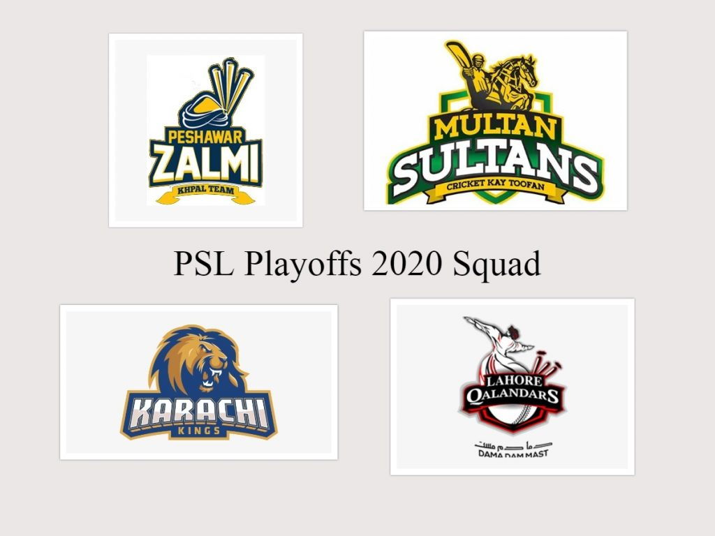 PSL 2020 updated squad list announced