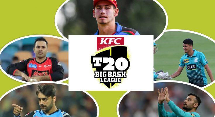 Afghanistan Players in Big bash League 2020-21