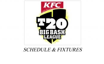 Big bash League 2020 Schedule
