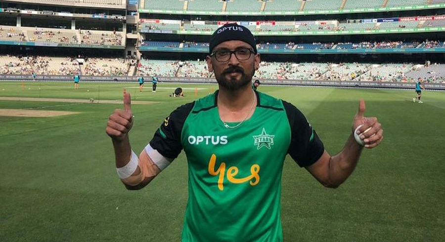 Dilbar Hussain signed by r Melbourne Stars