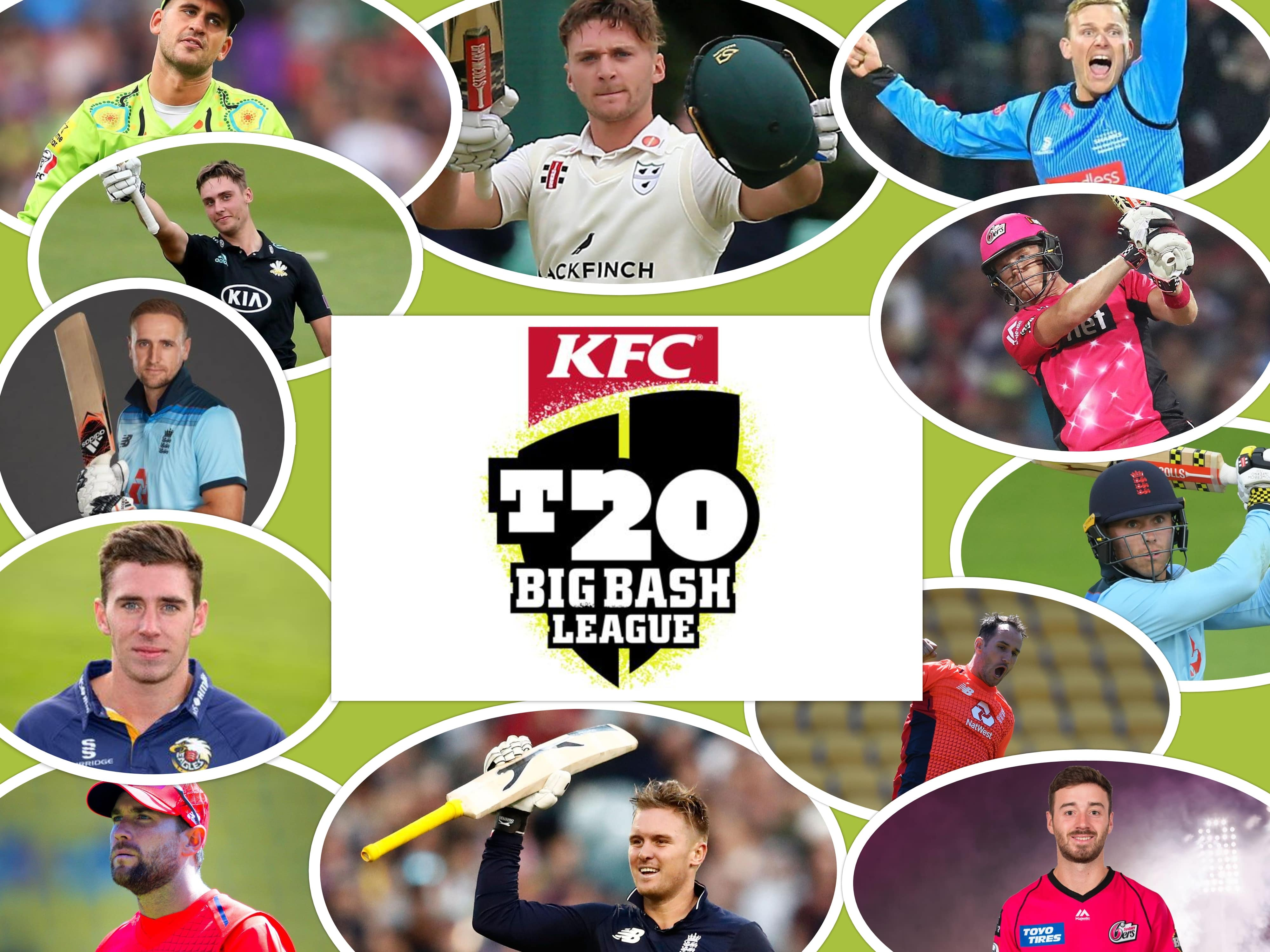 England players in Big Bash League 2020-21