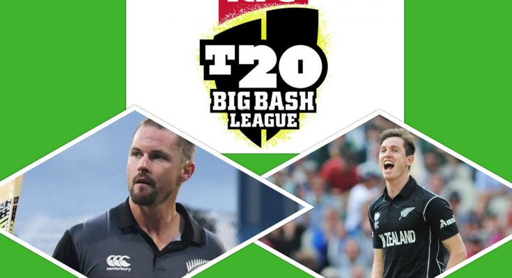 New Zealand players in Big Bash League 2020
