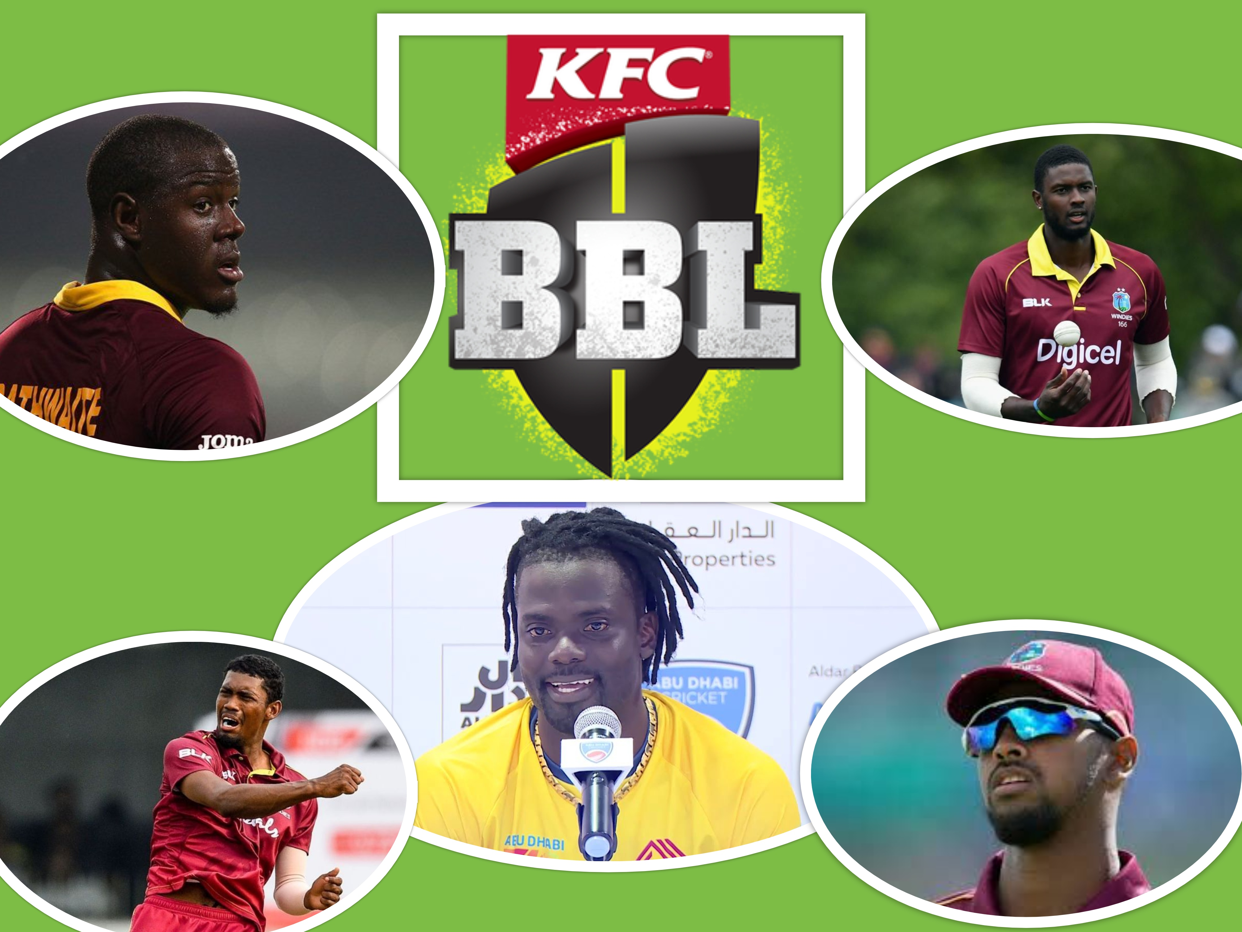 West Indian Players in Big Bash League 2020-21