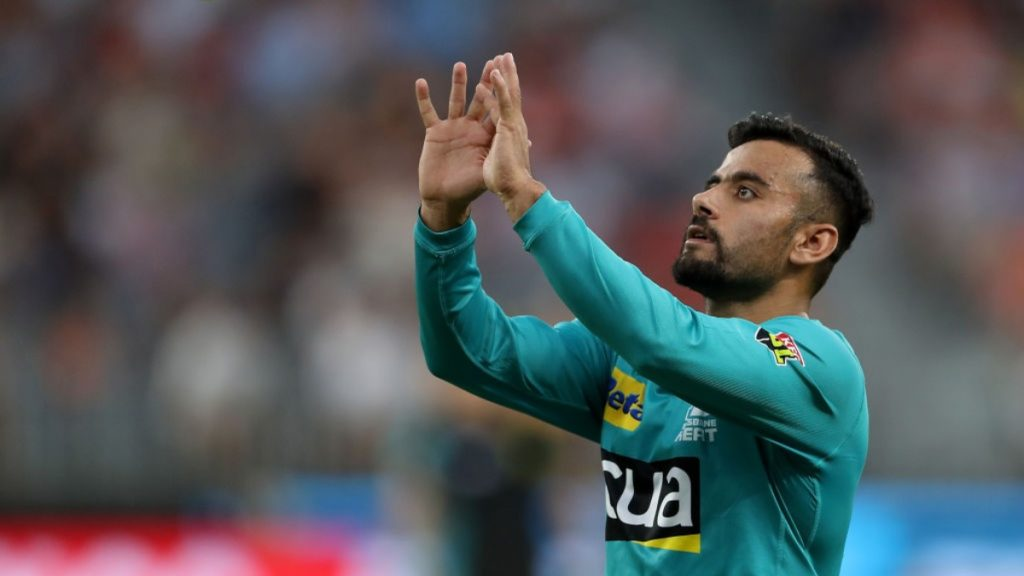 Zahir Khan joins Melbourne Stars in BBL 10