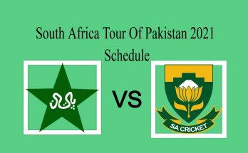 Pakistan vs South Africa 2021Schedule