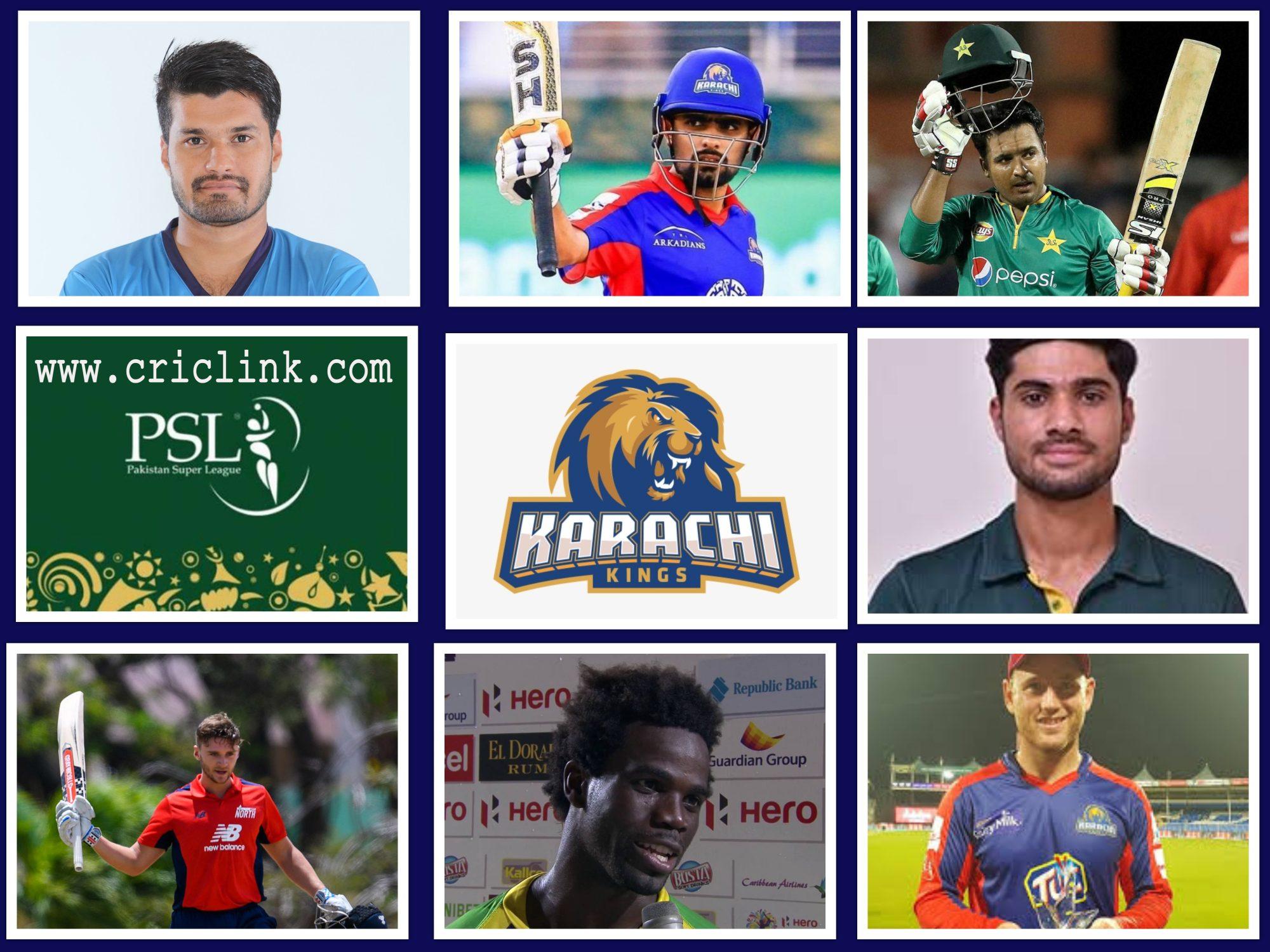Karachi Kings Batsman 2021