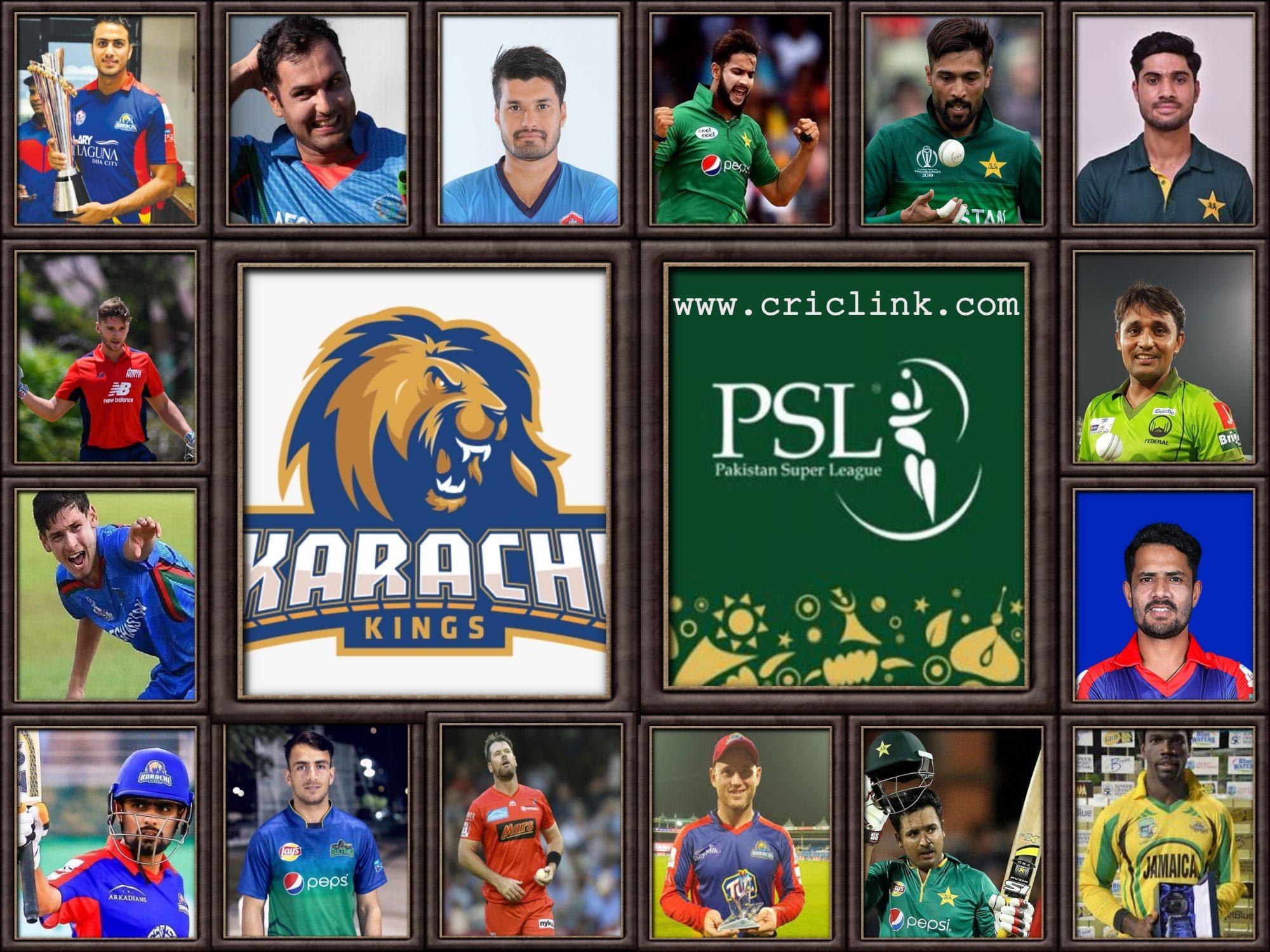 Karachi Kings Squad 2021
