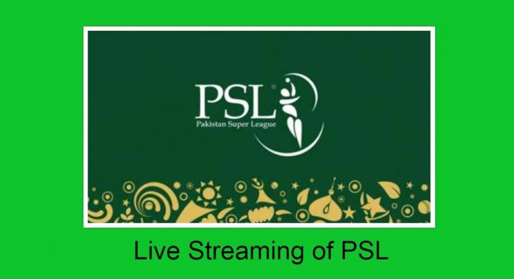 Pakistan Super League 2021 live streaming