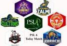 PSL 6 Today Match