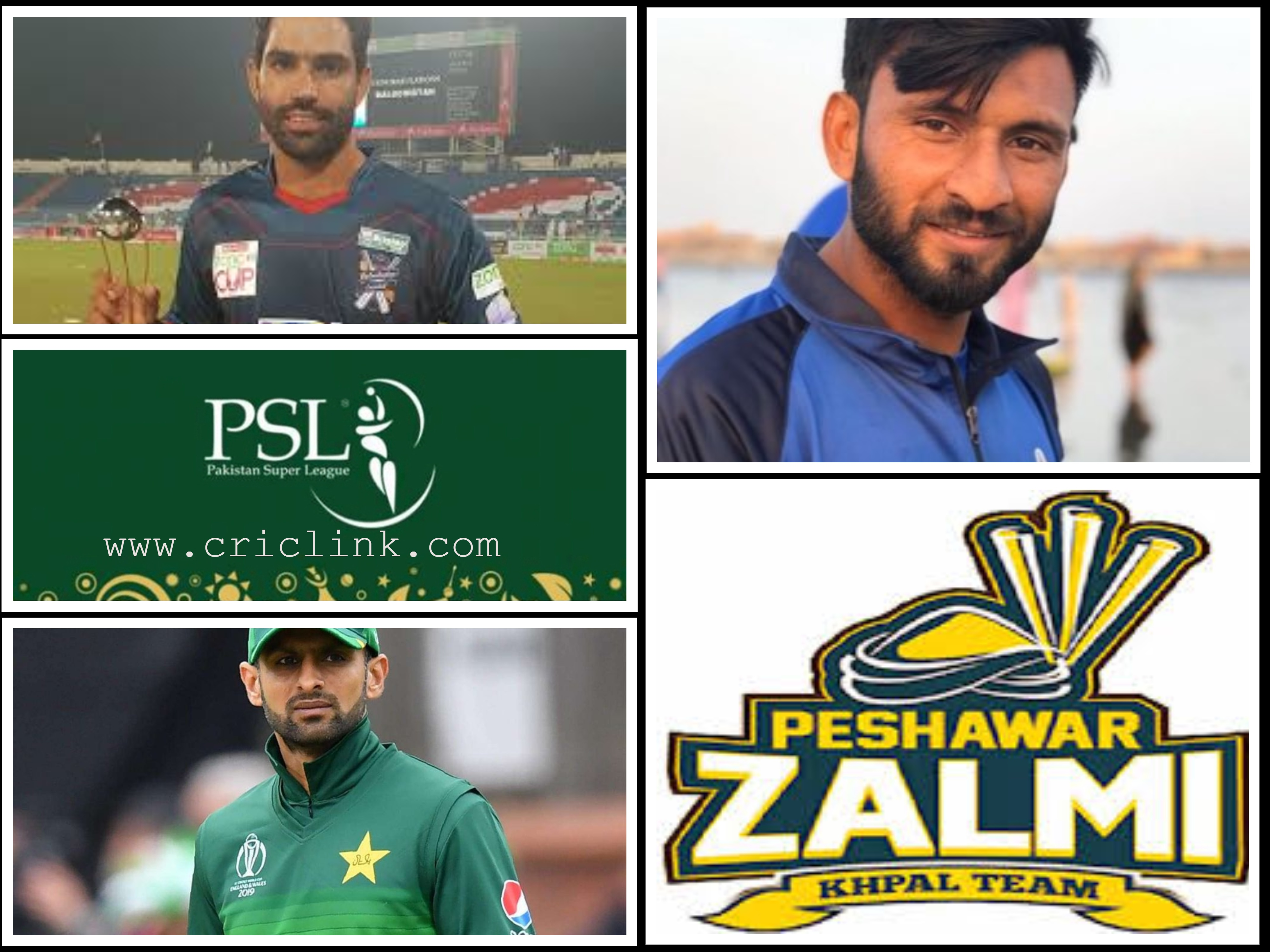 List of Peshawar Zalmi All Rounders 2021