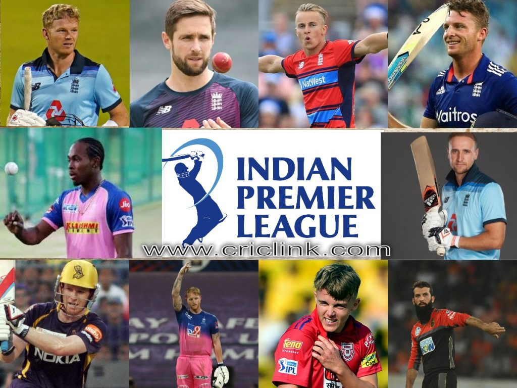 England players in IPL 2021