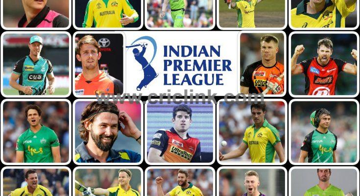 Australian Players in IPL 2021