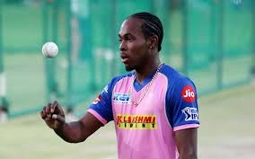 Jofra Archer who plays for England has been bought by RR for 7.2 crore INR during IPL 2021 auction.