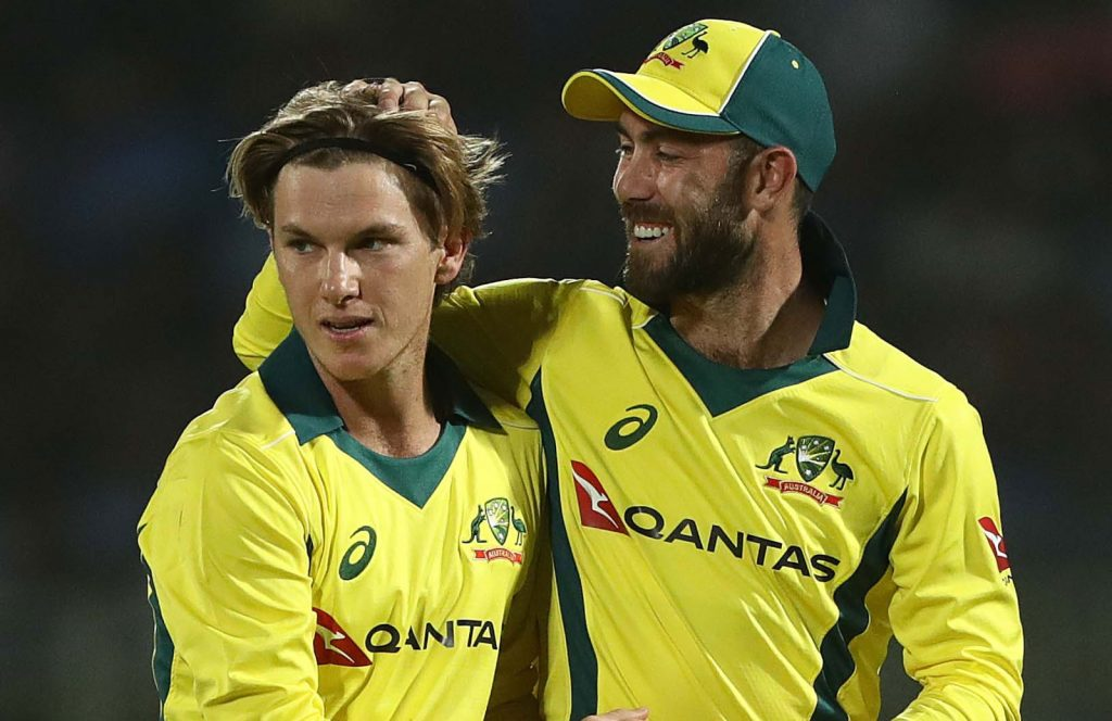 Maxwell and Zampa will represent RCB in IPL 2021