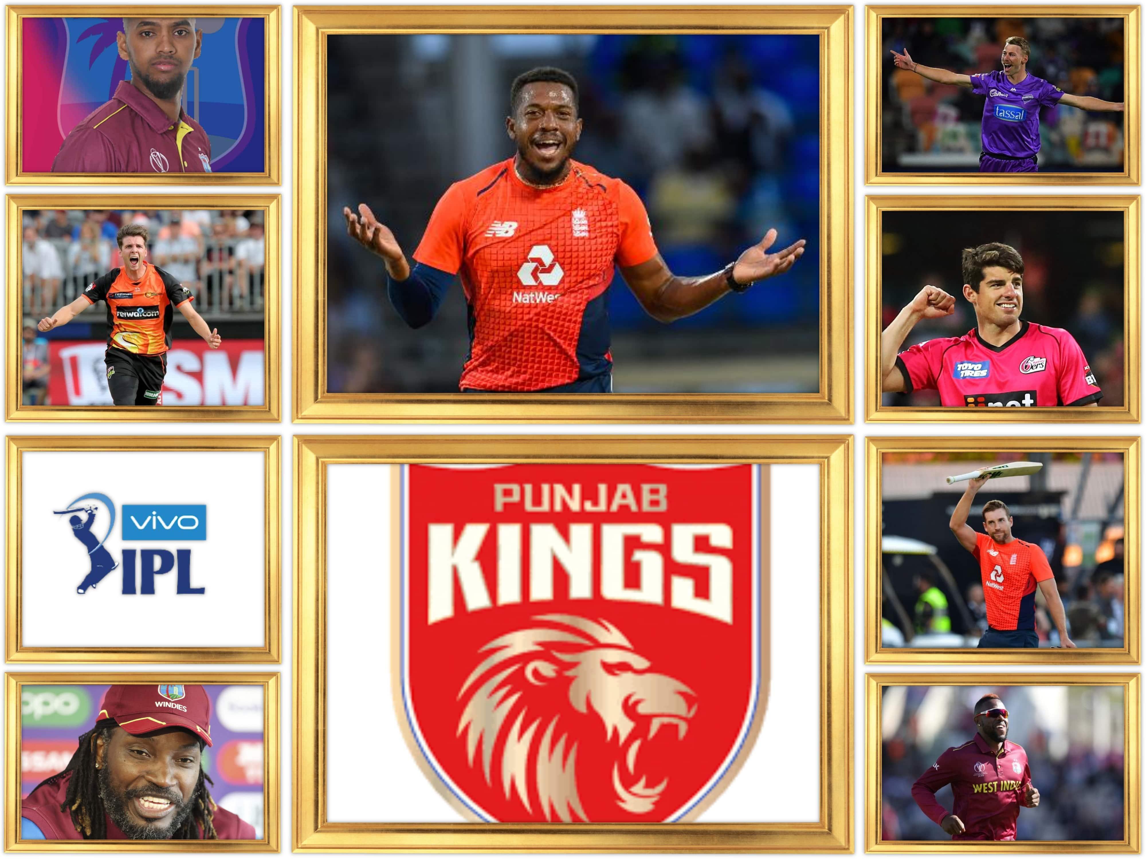 Punjab Kings Overseas Players 2021