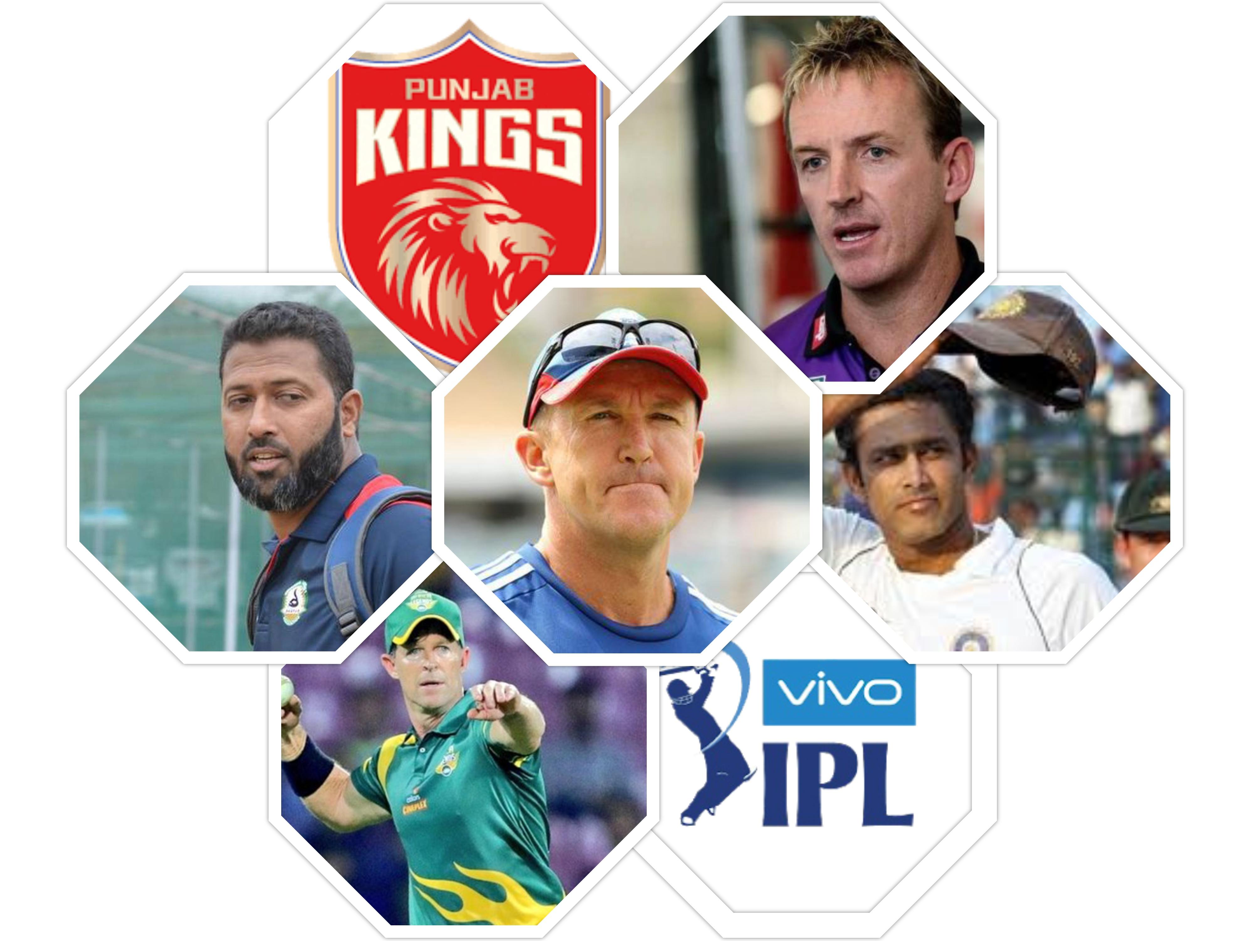 Punjab Kings Coach List 2021