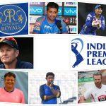 Rajasthan Royals Coach list