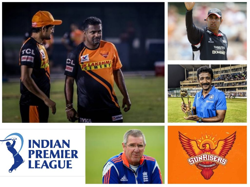 Sunrisers Hyderabad Coach List