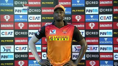 Jason Holder was retained by Sunrisers Hyderabad in INR 75 Lacs.