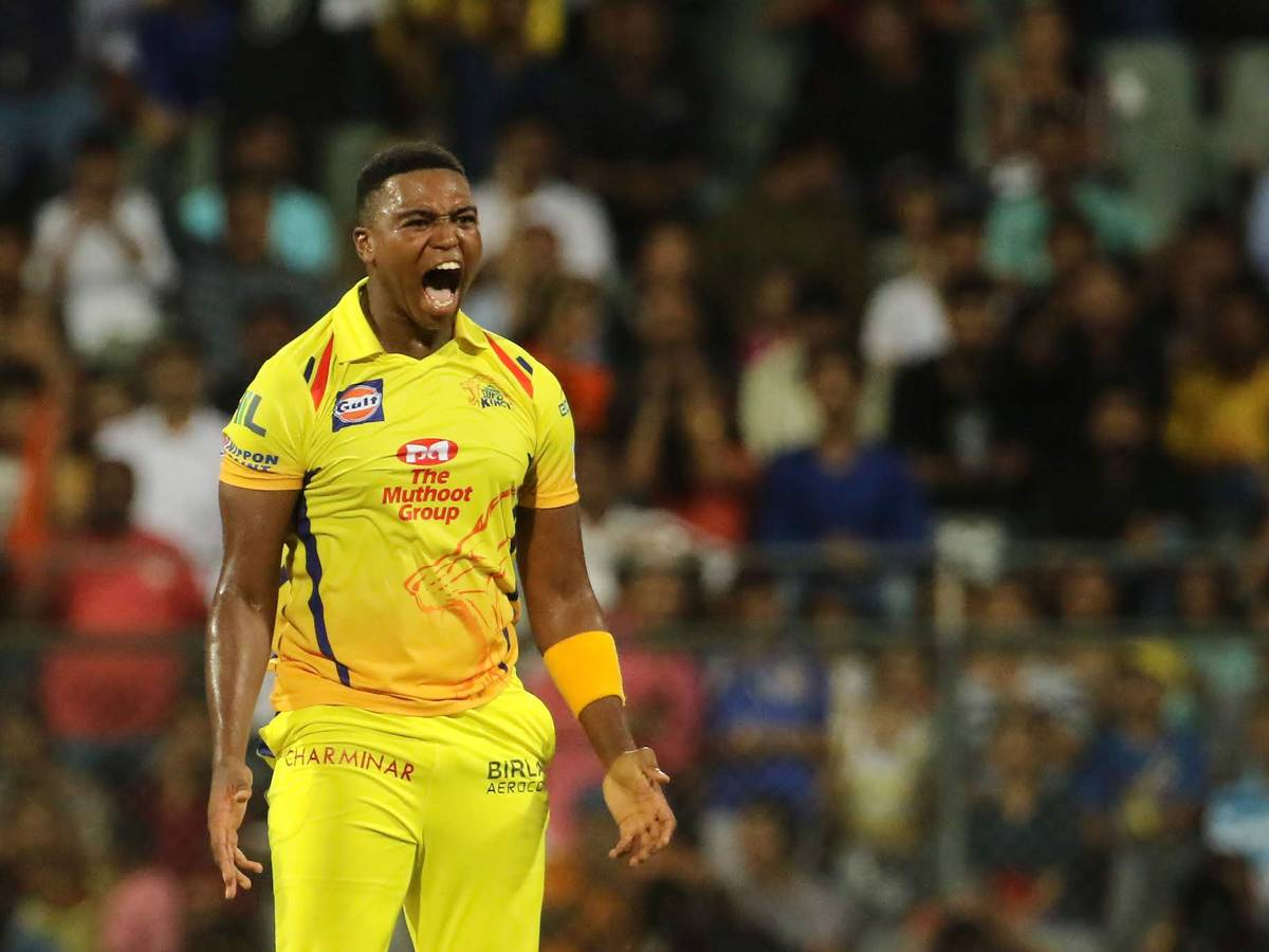 Lungi Ngidi is one of the South African Players in IPL