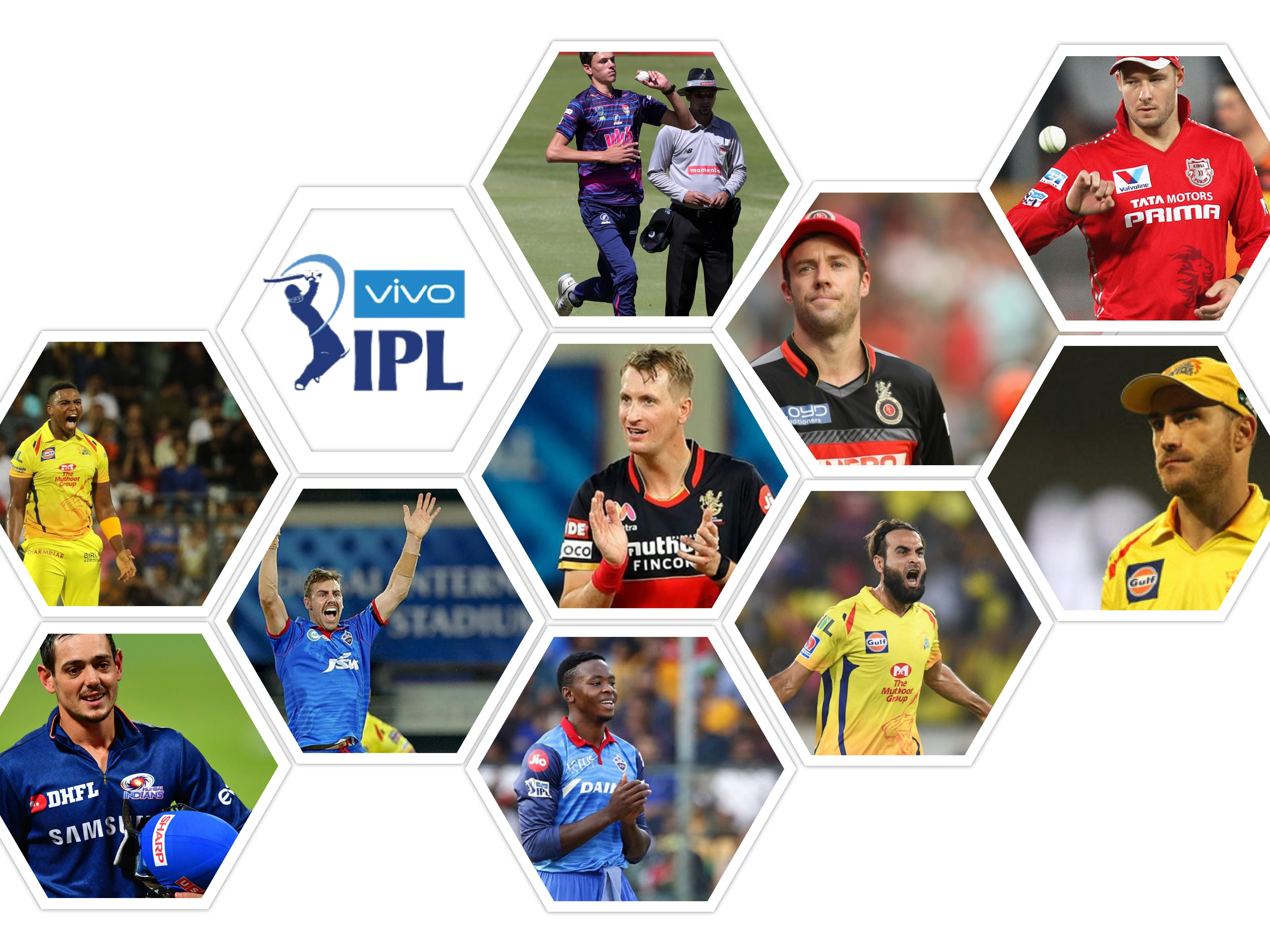South African Players in IPL 2021