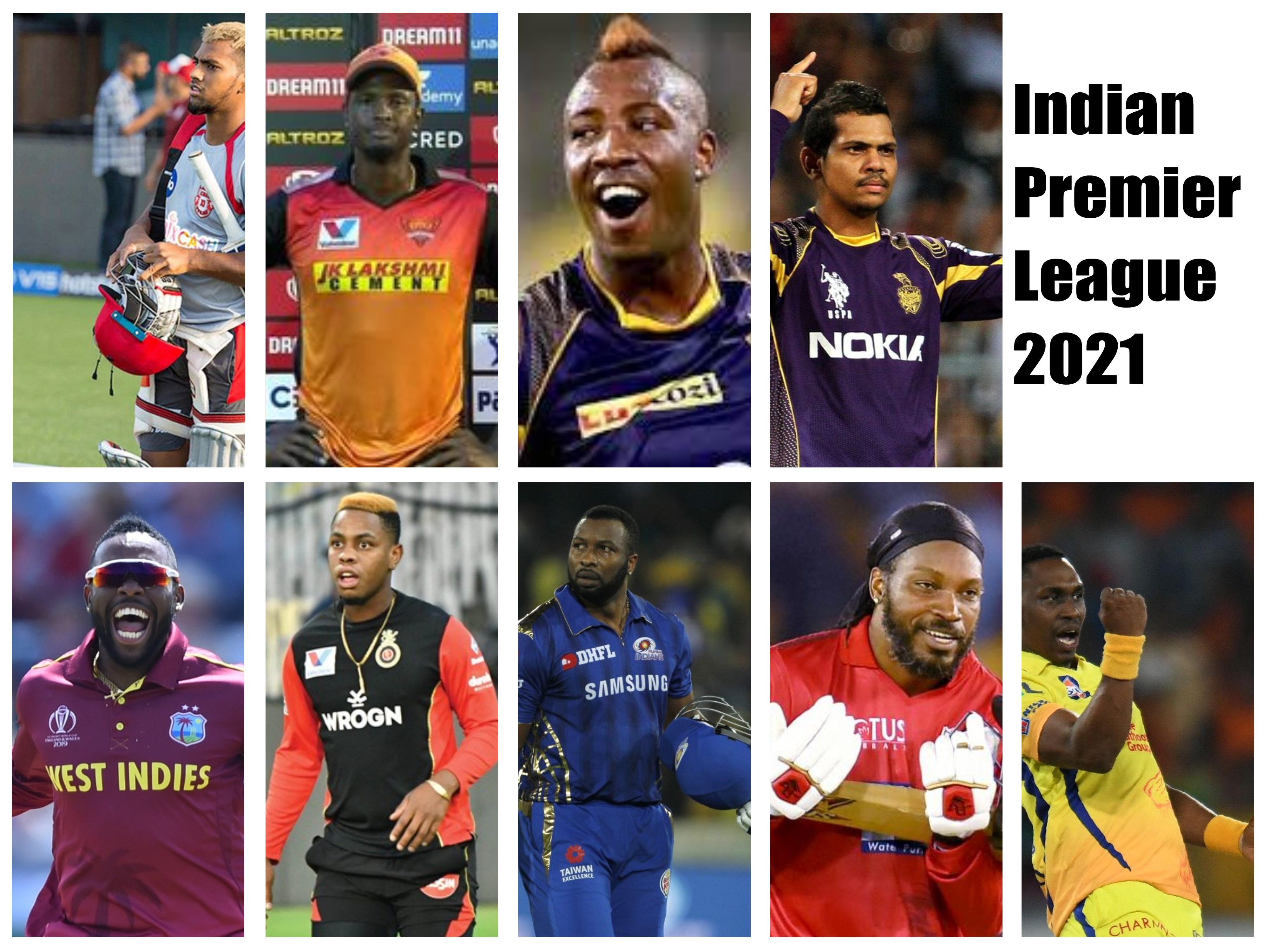 West Indian Players in IPL 2021