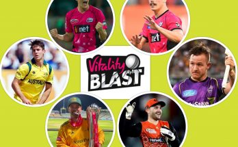 Australian Players in Vitality Blast 2021