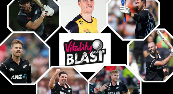 New Zealand Players in Vitality Blast 2021