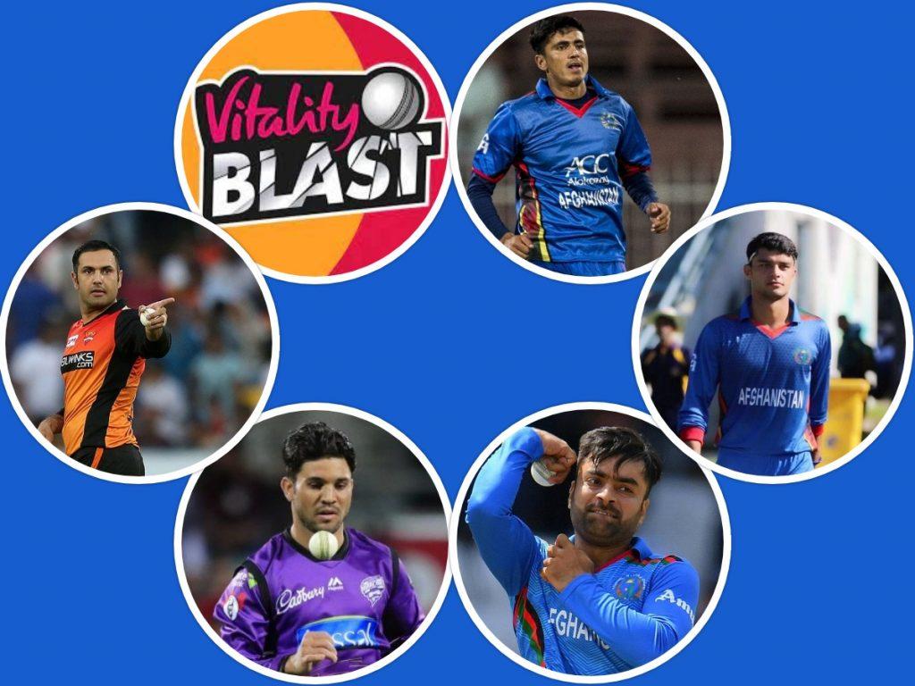 Afghanistan Players in Vitality Blast 2021 (