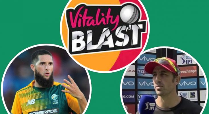 South African Players in Vitality Blast 2021