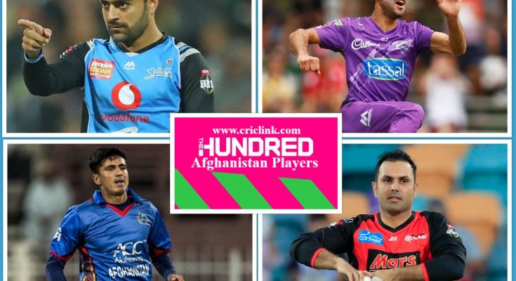 Afghanistan Cricketers in Hundred Cricket