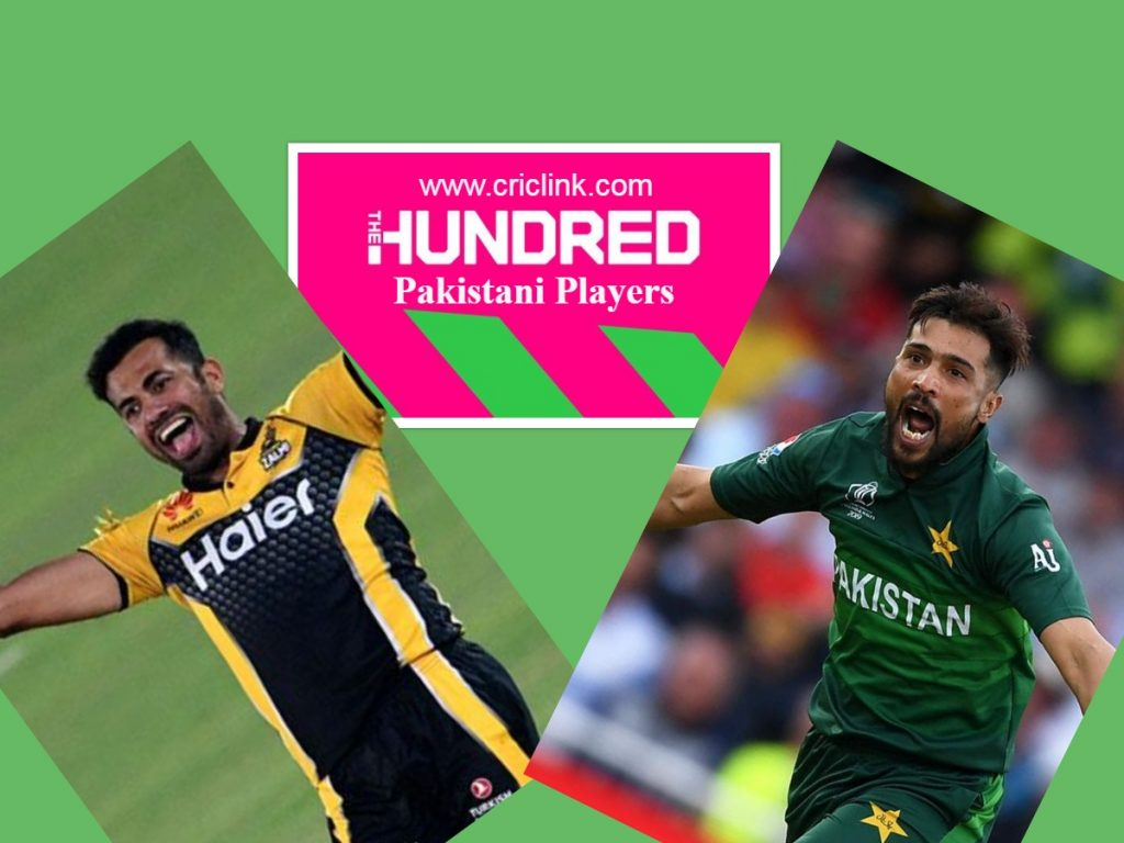 Pakistani Players in Hundred Crick