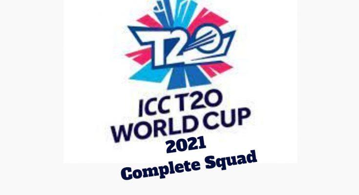 ICC World T20 Squad